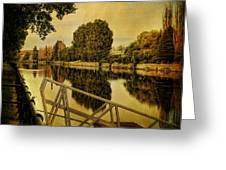 Lachine Canal Greeting Card