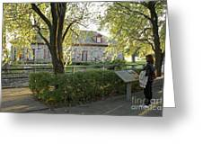 Lachine Museum Montreal Quebec Greeting Card