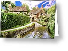 Lacock Village Greeting Card