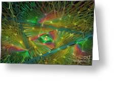 Lacy Rainbow Triangle Greeting Card
