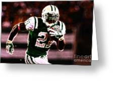 Ladainian Tomlinson - 01 Greeting Card by Paul Ward