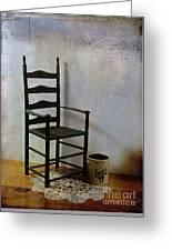 Ladderback Greeting Card by Judi Bagwell
