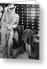 Ladies Must Dress, 1927 Greeting Card
