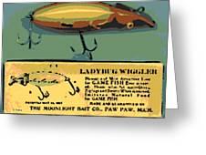 Lady Bug Wiggler Greeting Card