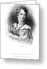 Lady Caroline Lamb Greeting Card