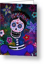 Lady Frida Greeting Card