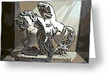 Lady Godiva Statue Greeting Card