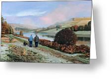 Ladybower Reservoir - Derbyshire Greeting Card