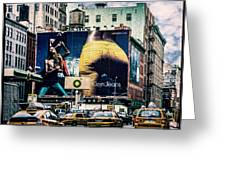 Lafayette And Houston Nyc Greeting Card by Chris Lord