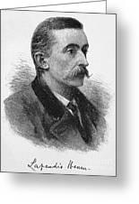 Lafcadio Hearn (1850-1904) Greeting Card