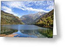 Lago Di Vogorno Greeting Card