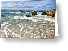 Laguna Beach Coast Greeting Card