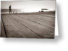 Laguna Beach Walk Greeting Card