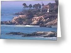 Laguna Surf Greeting Card