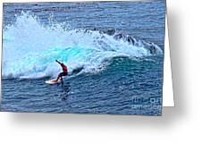 Laguna Surfer Greeting Card