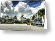 Lahaina Resort In Fort Myers Beach Greeting Card by Vicki Jauron