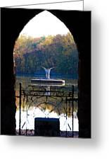 Lake Angel Greeting Card