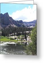 Lake Blanche Greeting Card