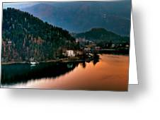 Lake Bled. Slovenia Greeting Card