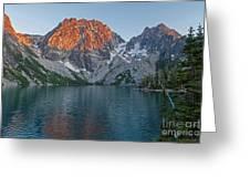 Lake Colchuck Sunset Greeting Card