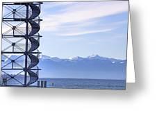 Lake Constance Friedrichshafen Greeting Card