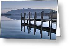 Lake District Jetty Greeting Card