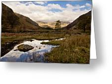 Lake District Reflections Greeting Card by Justin Albrecht
