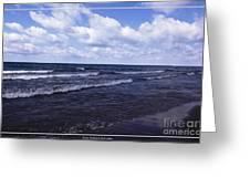 Lake Erie At Evangola State Park 2 Greeting Card
