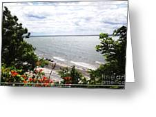 Lake Erie Beach At Sturgeon Point Greeting Card