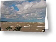 Lake Erie Storm 2368 Greeting Card