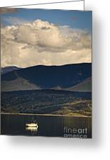 Lake Granby Rocky Mountain National Park Colorado Greeting Card