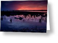 Lake Huron Sunset Greeting Card