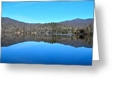 Lake In North Carolina Greeting Card