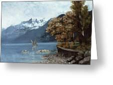 Lake Leman Greeting Card