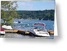 Lake Living 1 Greeting Card