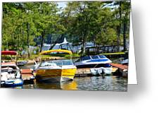 Lake Living 2 Greeting Card