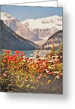 Lake Louise Alberta Greeting Card
