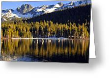 Lake Mary Golden Hour Greeting Card