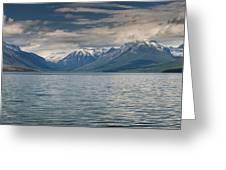 Lake Mcdonald Panorama Greeting Card