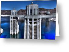 Lake Mead Hoover Dam Greeting Card