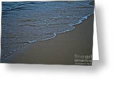 Lake Michigan Beach Greeting Card
