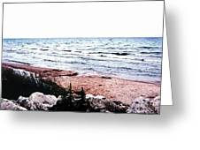 Lake Michigan Lll Greeting Card