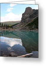 Moraine Lake - Lake Louise, Alberta Greeting Card
