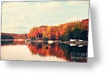 Lake Norman North Carolina Greeting Card