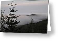 Lake Of Low Clouds Greeting Card