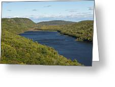 Lake Of The Clouds 1 Greeting Card