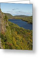 Lake Of The Clouds 4 Greeting Card