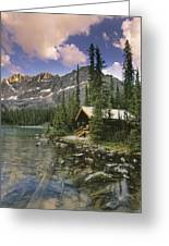 Lake Ohara Lodge Greeting Card