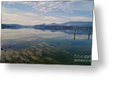 Lake Pend Orille  Greeting Card