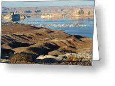 Lake Powell Evening Greeting Card